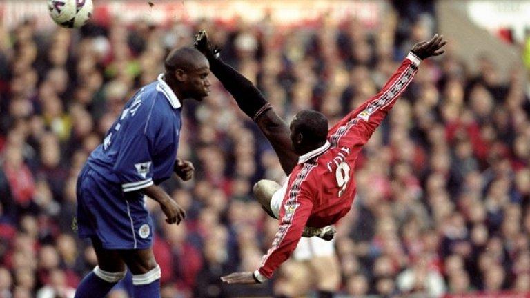 Анди Коул премина в Манчестър Юнайтед през 1994-та по Коледа.