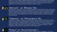 Баровете на София - една селекция на Webcafe