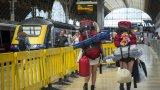 Пред европейския железопътен транспорт обаче стоят много проблеми