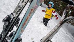 Хлапета още от детската градина обикват зимните спортове