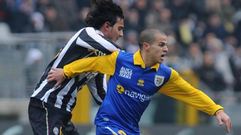 Този път Себастиан Джовинко ще облече бяло-черната фланелка и ще се изправи срещу Парма, с чийто екип често наказваше родния Ювентус