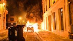 """Въпреки призивите на кмета Ан Идалго за """"разумни празненства или приемане на загубата"""", отправени в дните преди финала, хаосът и сблъсъците отново завладяха центъра на града."""