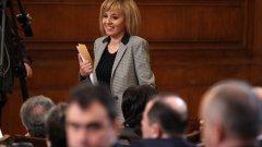 За втори път ГЕРБ иска оставката на Мая Манолова като заместник-председател на Народното събрание