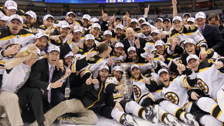 Купонът, с който Бостън отпразнува спечелената купа Стенли, струваше 160 000 долара