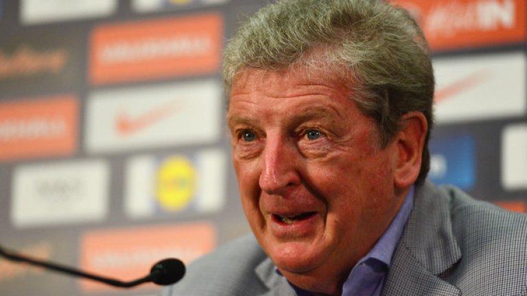 Рой Ходжсън шокира феновете с избора си на състав за Евро 2016