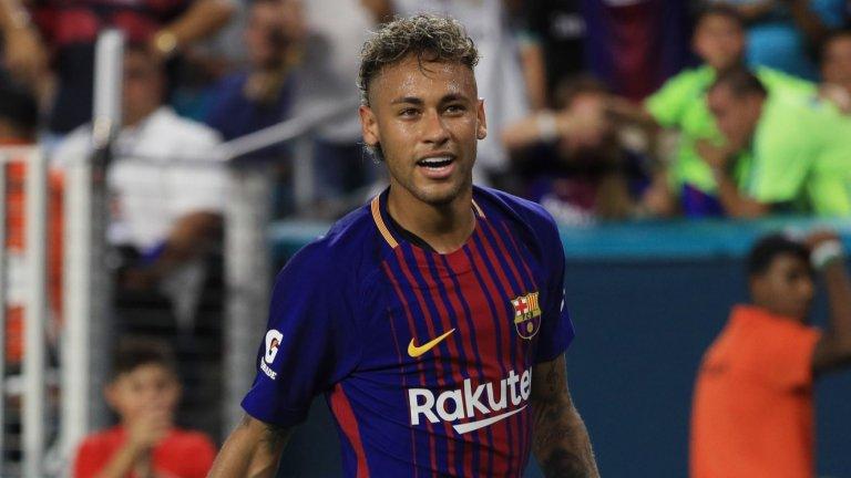 """Неймар напусна Барселона през 2017-а, но оттогава постоянно е свързван със завръщане на """"Камп Ноу""""."""