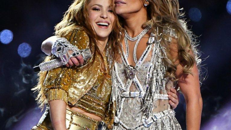 Шакира и Дженифър Лопес направиха изключително шоу на почивката на Супербоул...