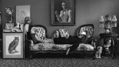 Арнолд Нюман © Труман Капоти, Ню Йорк, 1977