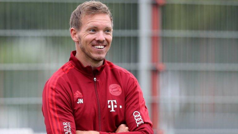 Първите месеци на Нагелсман в Мюнхен донесоха впечатляващи победи и не оставиха съмнения, че младият треньор е готов за предизвикателството