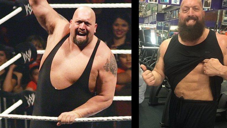 Грамадата  През 90-те години Грамадата бе смятан за най-тежкия атлет с тегло от над 180 килограма. Той обаче успя преди няколко месеца да се вкара във форма, в каквато не е бил никога през живота си. След голяма промяна в тренировките и хранителния режим, той свали 35 кг и оформи преса. Определено една от най-неочакваните и впечатляващи трансформации в WWE.