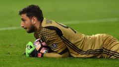Изглеждаше, че героичните изяви на Донарума ще донесат точка на Милан, но дузпата в края осигури 31-ва поредна домакинска победа на Юве в Серия А