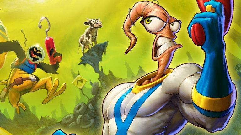 Earthworm Jim  Запалените геймъри вероятно познават името Earthworm Jim от 2D екшън платформърите за Sega Genesis, но милиони деца се срещат за пръв път със симпатичния червей в космически костюм именно в популярния ТВ сериал, вдъхновен от играта.  Като анимация, Earthworm Jim върви в ефира на Kids WB между 1995 г. и 1996 г. и се радва на голям успех. Сериалът е продуциран от създателя на героя Дъглас Тенапъл, който запазва оригиналността и свежия хумор и на малкия екран. Радушният прием на сериала вдъхновява и пускането на два комикса, които вървят по същото време, както и на поредица детски играчки.  Нещо повече, новосъздадените за сериала персонажи се оказват толкова популярни, че по-късно те намират място в последвалите игри Earthworm Jim 3D и Earthworm Jim: Menace 2 the Galaxy. През 2008 г. се заговори за нов сериал с Earthworm Jim, но поне засега не се е получило никакво развитие по този проект и това наистина е жалко.