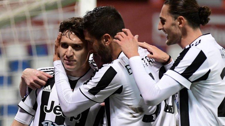 Ювентус се утеши с рекордна Купа на Италия
