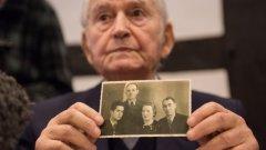 """С днешна дата бившият надзирател в концентрационния лагер """"Аушвиц"""" Райнхолд Ханинг (94 години) е осъден на 5 години лишаване от свобода заради съучастие в избиването на най-малко 170 000 души. Срещу него на процеса свидетелства 94-годишният Леон Шварцбаум:  """"Комините бълваха огън... миризмата на горяща човешка плът беше толкова отвратителна, че трудно можеше да се понесе"""""""