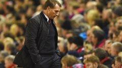 Роджърс не е доволен от мотивацията на някои от играчите на Ливърпул