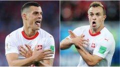Джака и Шакири се разминаха с глоби и ще могат да играят в следващите мачове на Швейцария