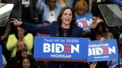 Харис става първата чернокожа жена с шанс да заеме втората по власт позиция в САЩ