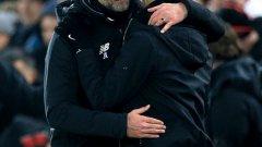 Юрген Клоп е най-успешният треньор в съперничеството с Пеп Гуардиола. Вижте в галерията 6-те победи на германеца...