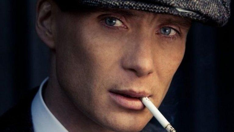 Килиан Мърфи - Peaky Blinders  Критиците го оценяват за хамелеонското му превъплъщаване в различни роли и хипнотичните сини очи.