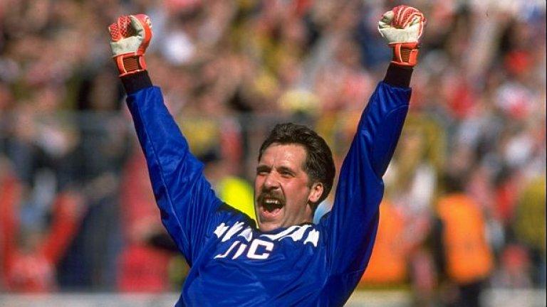 8. Дейвид Сийман (1996-03). Зад всеки успял тим стои добър вратар. Точно това бе англичанинът.