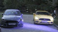 Ford Mustang дебютира у нас в компанията на Focus ST
