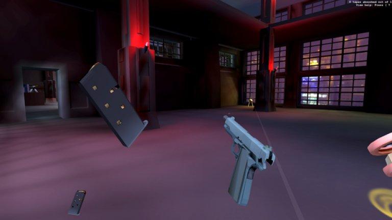 В Receiver усещането при употребата на оръжие е далеч по-реалистично, отколкото сме свикнали да виждаме в игрите