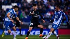Реал се издъни срещу една от любимите си жертви в Испания - Еспаньол нямаше успех в последните 21 мача срещу мадридчани