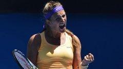 Азаренка смята, че българинът е тенисист от световна класа.