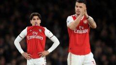 Арсенал е без победа в последните си девет мача във всички състезания
