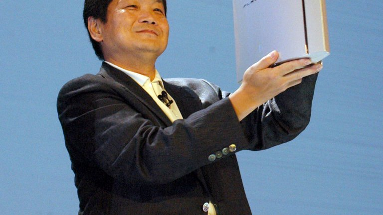Бащата на PlayStation Кен Кутараги анонсира PlayStation 3 през май 2005 г.
