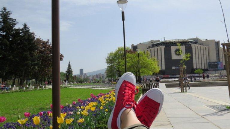 НДК през пролетта