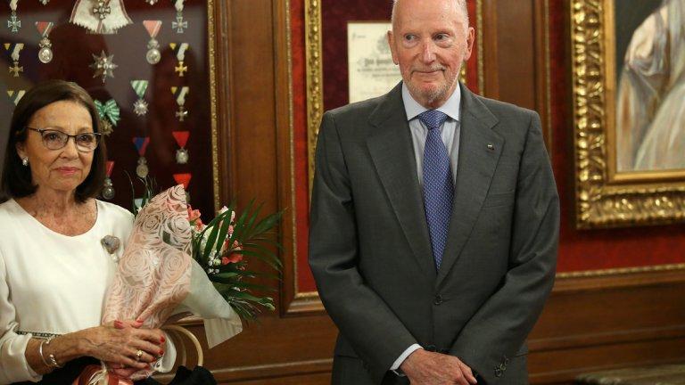 """На представянето на новата си книга бившият премиер отново изрази огорчение от изгубеното дело за двореца """"Врана"""""""