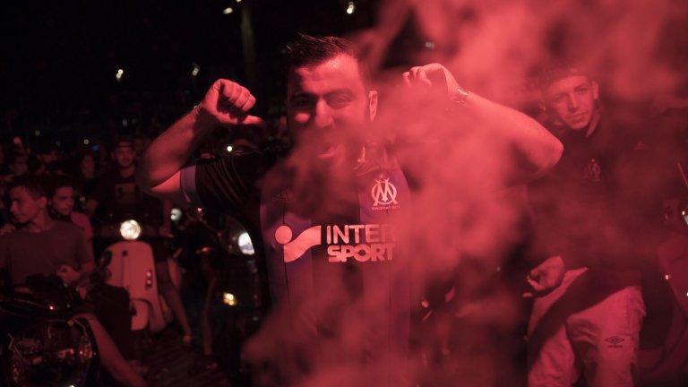Париж горя, Марсилия излезе да празнува