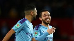 Бернардо Силва правеше каквото си иска между защитниците на Юнайтед през първата част