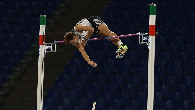 Леката атлетика има нов герой след Болт: 20-годишният Арманд Дуплантис, който подобри рекорда на Сергей Бубка