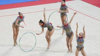 Триумфално завръщане на ансамбъла със златни медали в София