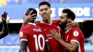 Златното трио в атаката на Ливърпул отново се прояви, като този път головете бяха дело на Садио Мане