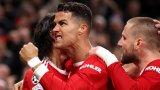 """Роналдо поведе преобразения Юнайтед към голям обрат на """"Олд Трафорд"""""""