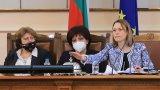 Според Ива Митева засега депутатите ще заседават в страта сграда на Народното събрание