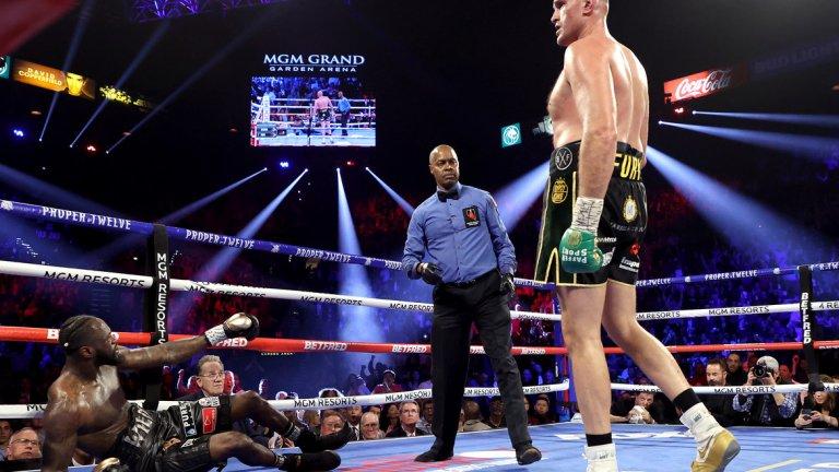 Циганския крал преби Уайлдър във втория мач