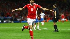 Гарет Бейл поведе Уелс към нещо голямо на Евро 2016.