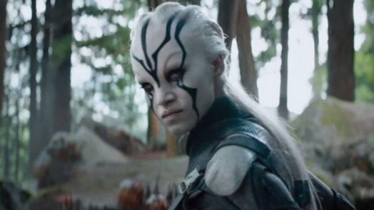 София Боутела в Star Trek Beyond  Тя ще бъде Джайла в предстоящата през лятото фантастика - персонаж, за когото все още липсват подробности. Гримьорите обаче очевидно са поработили върху актрисата с алжирски и френски корени...
