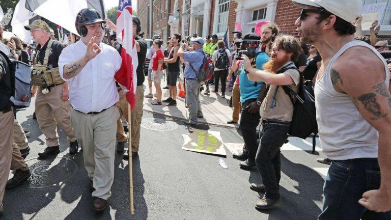 Случилото се миналата година в Шарлътсвил в САЩ е само един от примерите, че през 2018-а отново се наблюдава изостряне на разделението в западните общества.