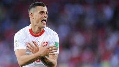Празнуването на головете във вратата на Сърбия може да донесе наказания на Джака и Шакири