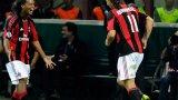 В първия си период в Милан Златан носеше номер 11.