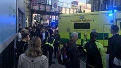 22 ранени при взрива в метрото в Лондон
