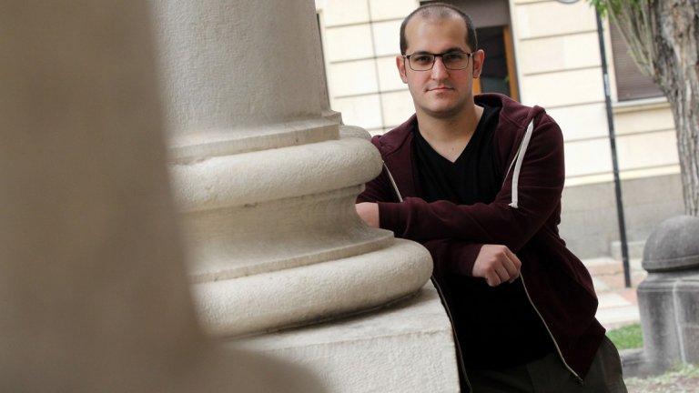 Мартин Колев е роден в Бургас, въпреки това действието в романа му се развива в София - града, в който живее от години