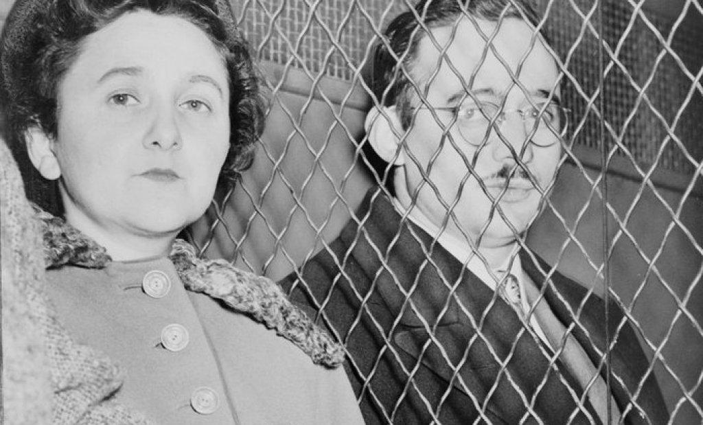 Етел Розенберг  Етел и съпругът й Джулиъс са екзекутирани на електрическия стол в американския затвор Синг Синг през 1953 г. Двамата са осъдени на смърт за това, че са откраднали и предали на Съветския Съюз военни тайни, свързани с разработването на атомната бомба, както и различни проекти за самолетни двигатели и, радари .  Според доказателствата на ФБР Етел и Джулиъс са били ръководители на мащабна мрежа, която е отговаряла за събирането и предаването на свръхсекретна информация. Организацията е разбита, след като американските власти спипват бившия ядрения физик Клаус Фукс, който издава останалите членове.