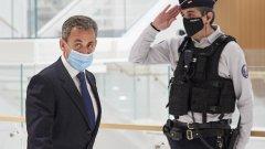 Саркози получи още една ефективна присъда