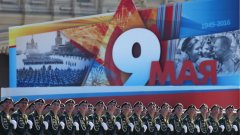 Военният парад в Москва (снимки)